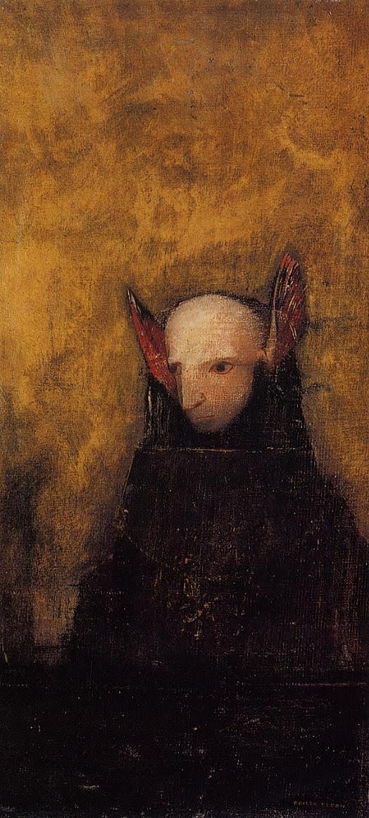 Odilon Redon The Monster
