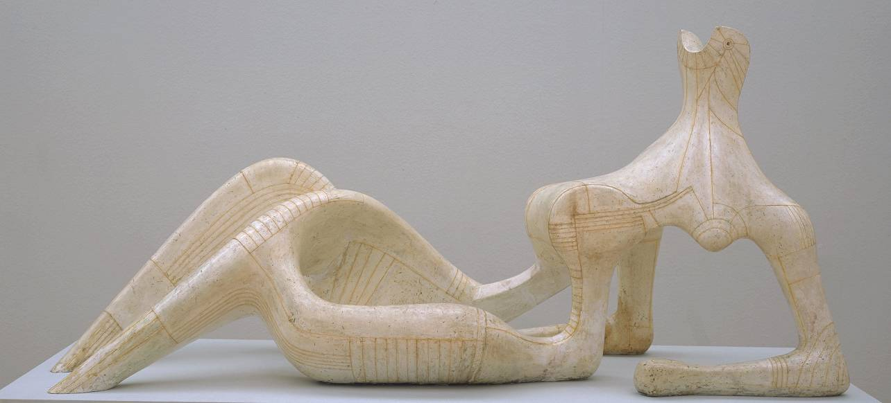 Reclining Figure 1951 by Henry Moore OM, CH 1898-1986