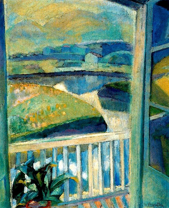 Daniel Vazquez Diaz, Window in Bidasoa, Fuenterrabía.jpg