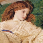 Dreams by Frederic William Burton and a quote by Fernando Pessoa