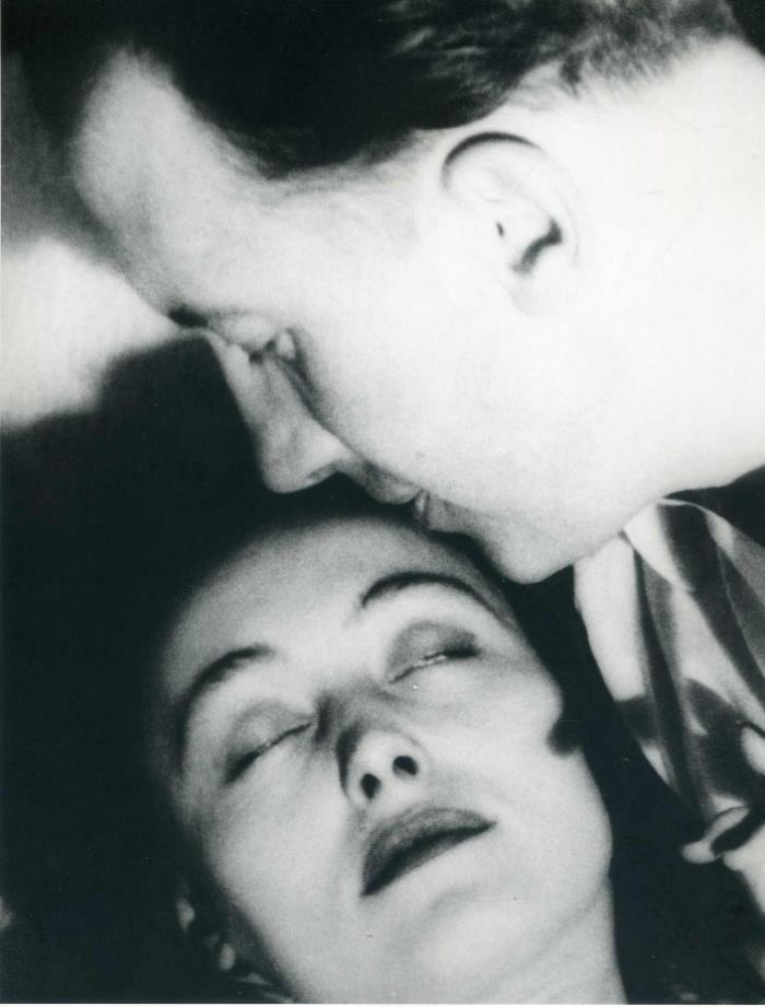 Nuchs and Paul Eluard by Man Ray