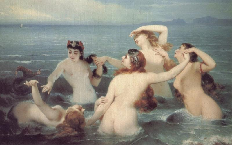 Sirenes (Sirens) by Charles Edward Boutibonne