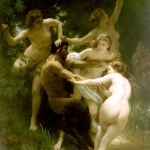 Nymphes et Satyre by William Bouguereau